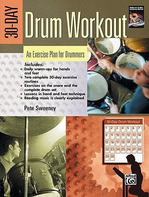 30-day Drum Workout By Sweeney, Pete
